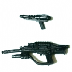 Star Wars 1996 POTF2  Greedo spare weapons